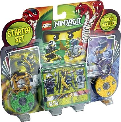 NINJA Master of spinjitzu Starter Set Arena Include