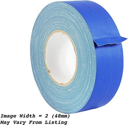 DARK BLUE GAFFERS STAGE TAPE 1//2 INCH X 60 YARDS