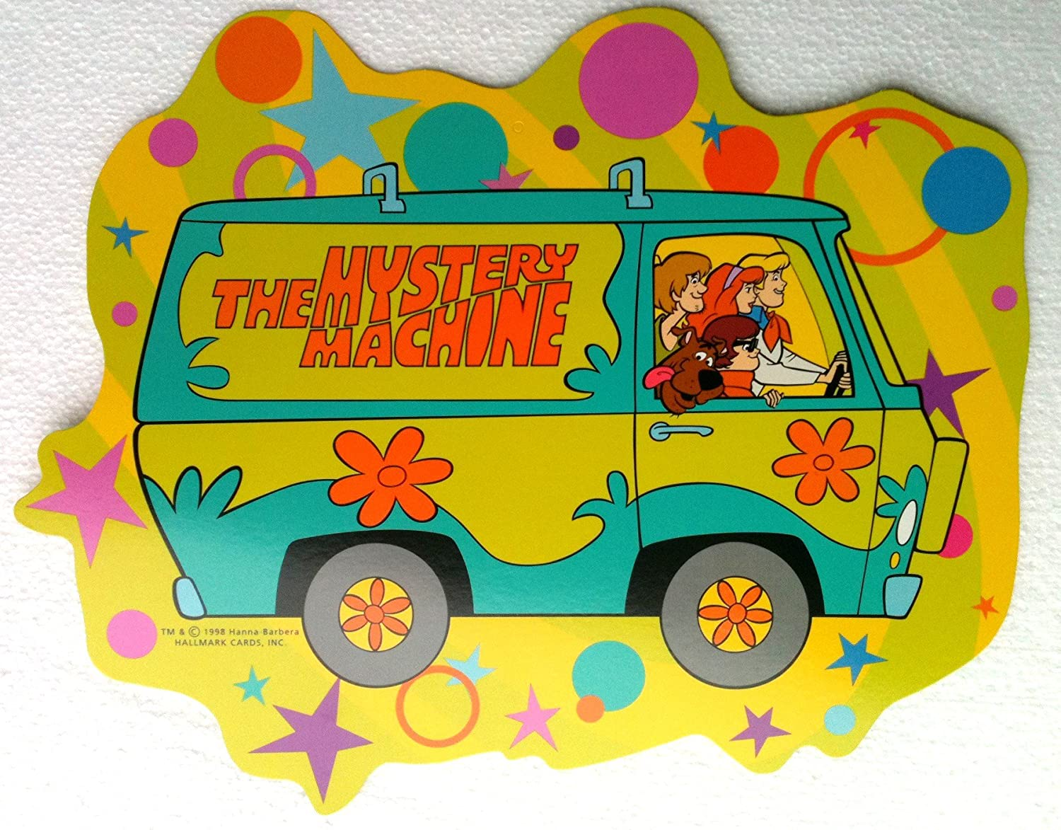 Amazon.com: Scooby Doo Hanging Party Decoration or Wall Decor THE ...