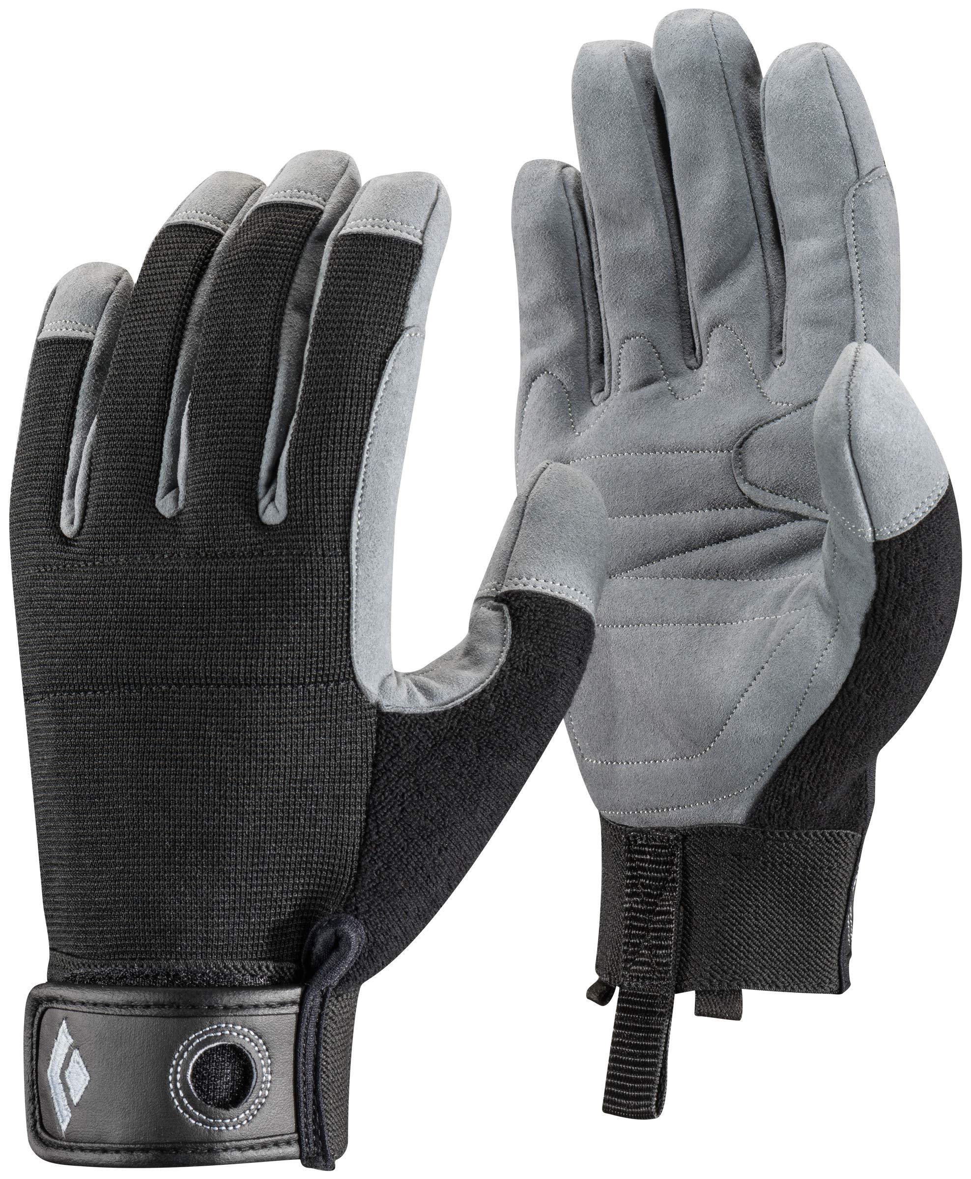 Black Diamond Crag Climbing Gloves, Black, Medium by Black Diamond