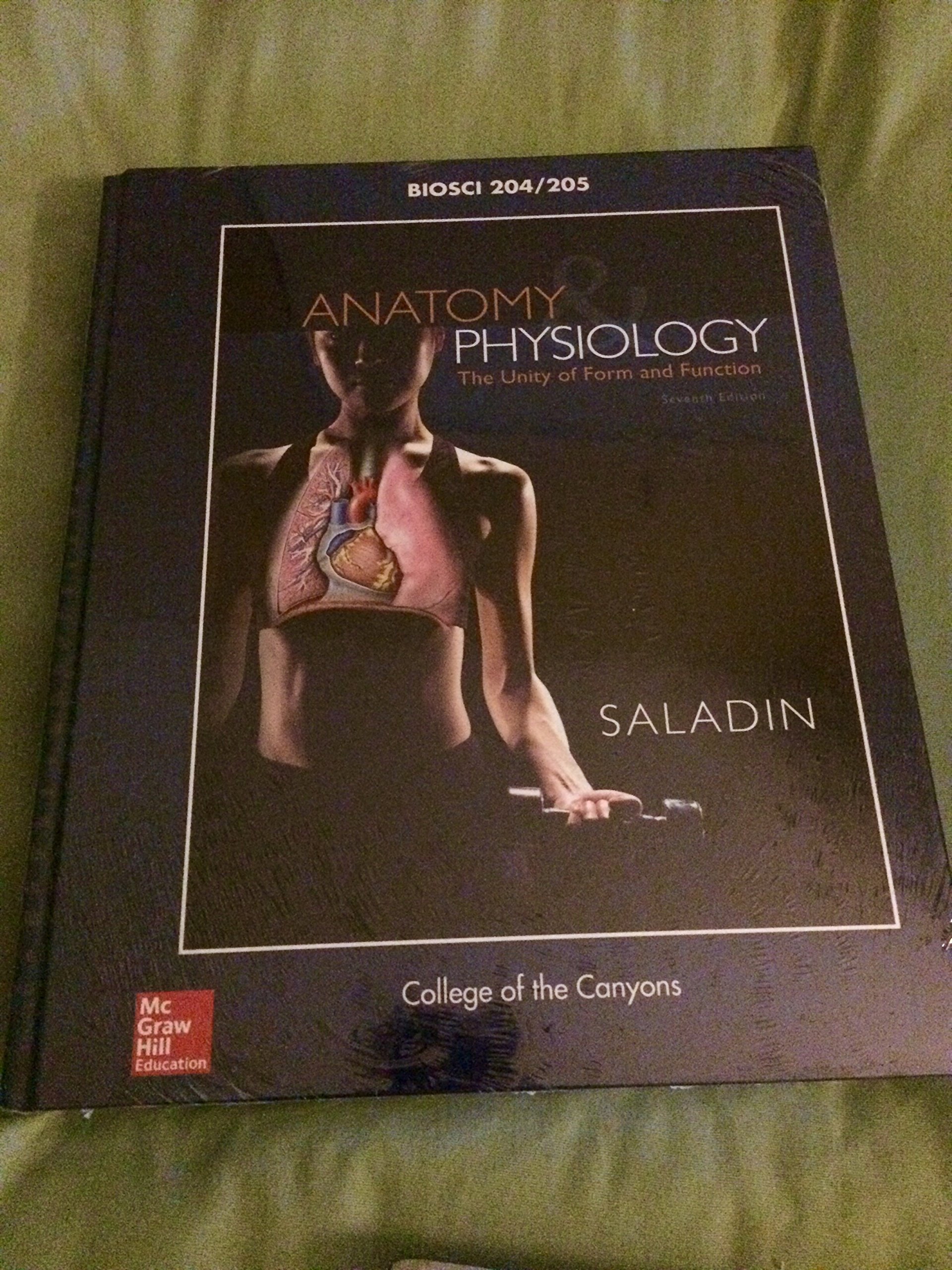 Anatomy & Physiology The Unity of Form and Function (7th Edition ...