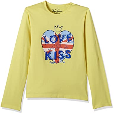 Pepe Jeans London Girls T Shirt Amazon In Clothing Accessories