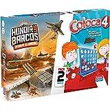 Falomir 646389 - Juego Doble Coloca 4+Hundir Barcos
