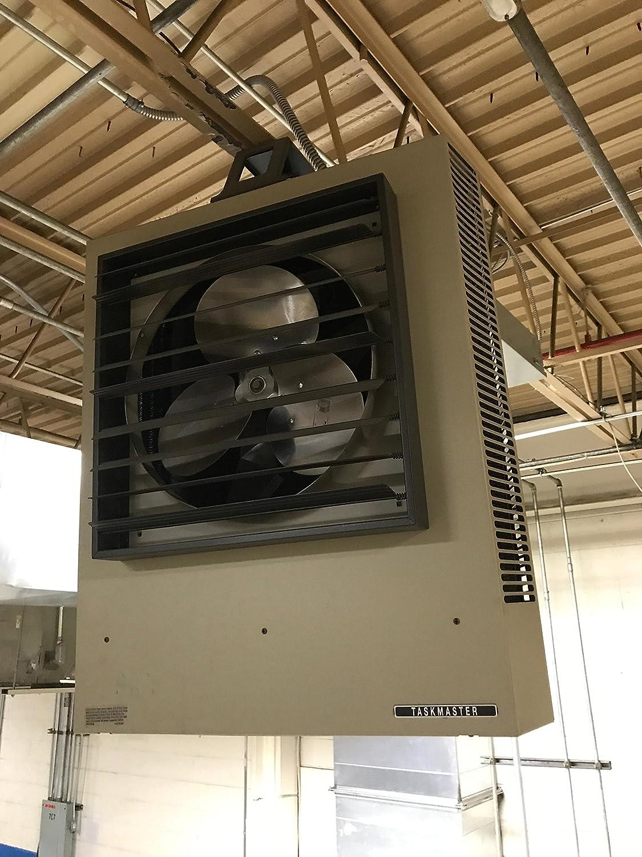 Tpi Hf3b5115ca1l Series 5100 Fan Forced Unit Heater Standard Taskmaster Wiring Diagram 15 112 Kw 3 Phase 361 313 Amps Industrial Scientific