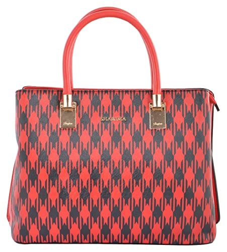 d461dc33519a Gouri Bags Stylish Trendy Golden Handbags Shoulder Soft Leather Bag Women  Ladies Girl Purse Office Bag