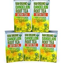 Dandelion Root Tea Detox Tea - Raw Organic Vitamin Rich Digestive - 5 Pack