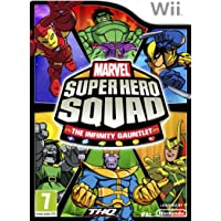 NINTENDO WII MARVEL SUPER HERO SQUAD THE INFINITY GAUNTLET