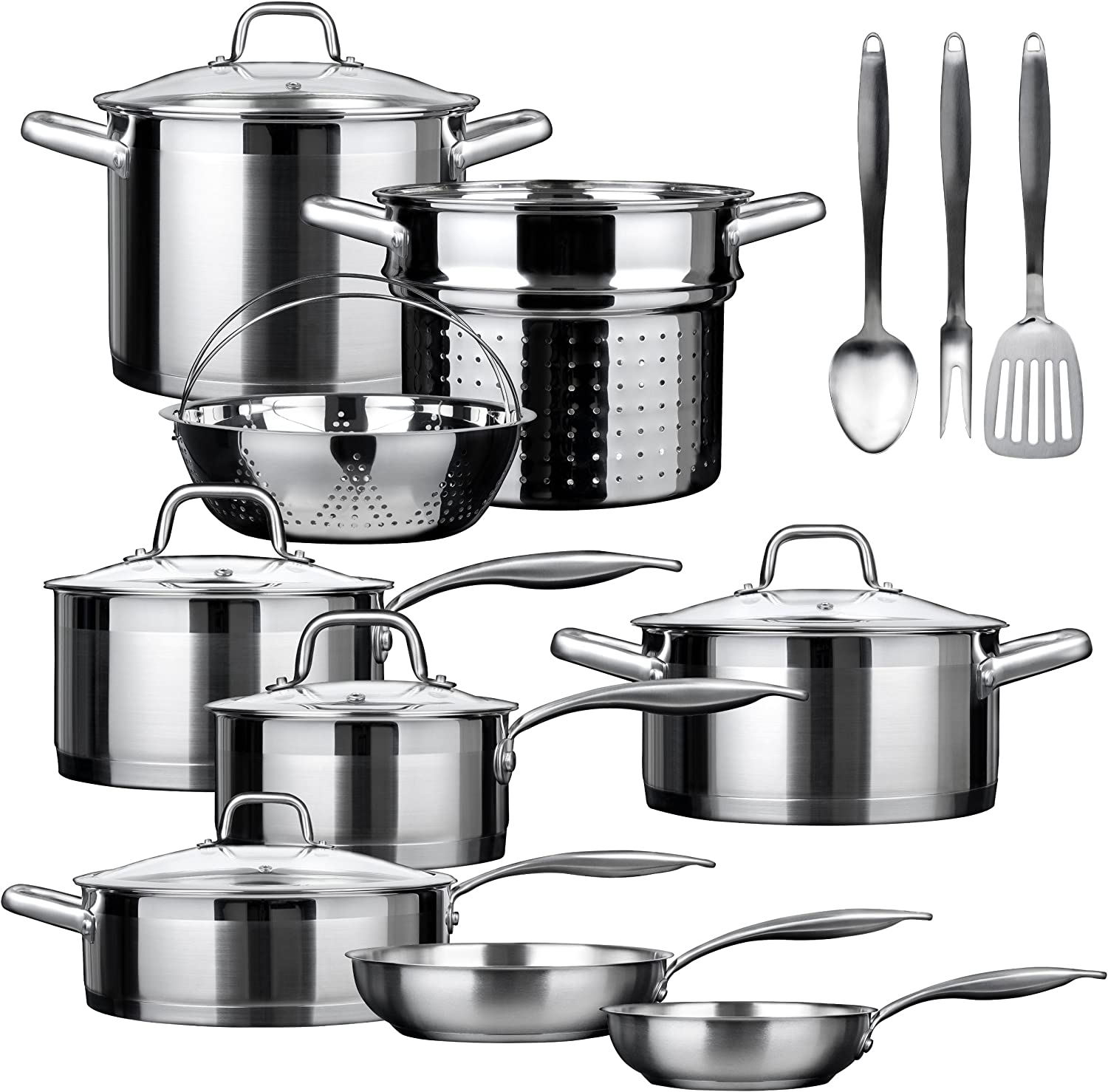 Duxtop Stainless Steel Induction Cookware Set