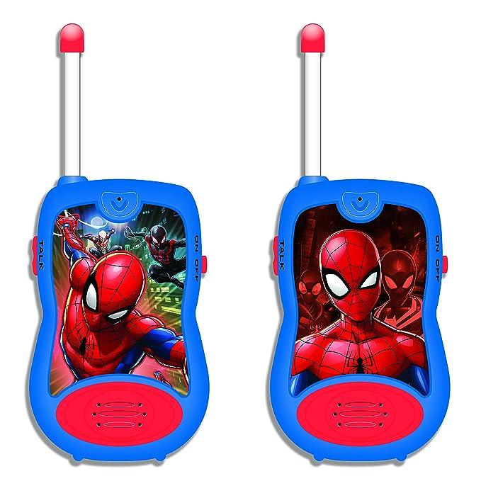 Amazon.es: Spider-Man - Walkie-Talkies, 100 metros, juguete niño ...