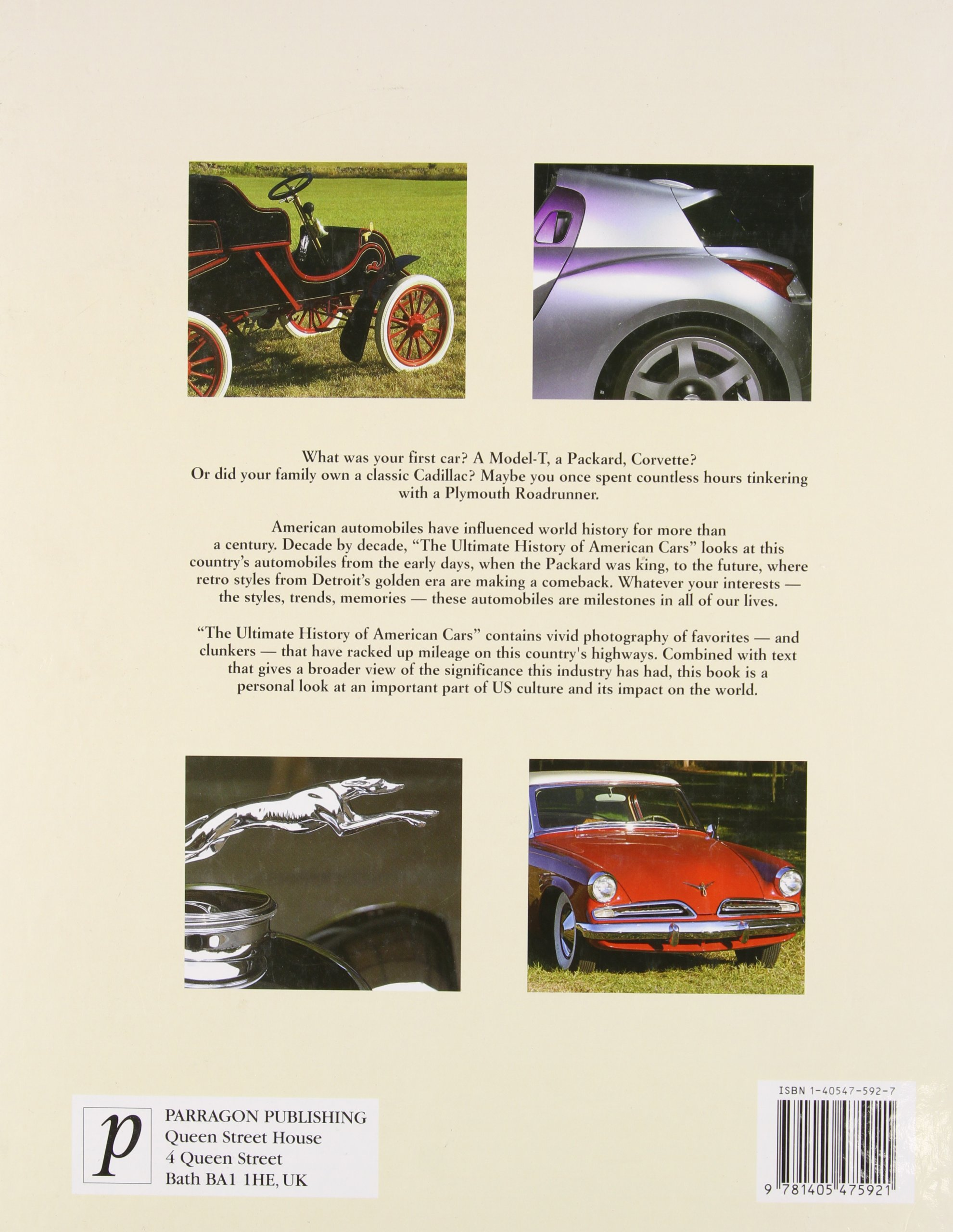 The Ultimate History Of American Cars Fredric Winkowski Frank D