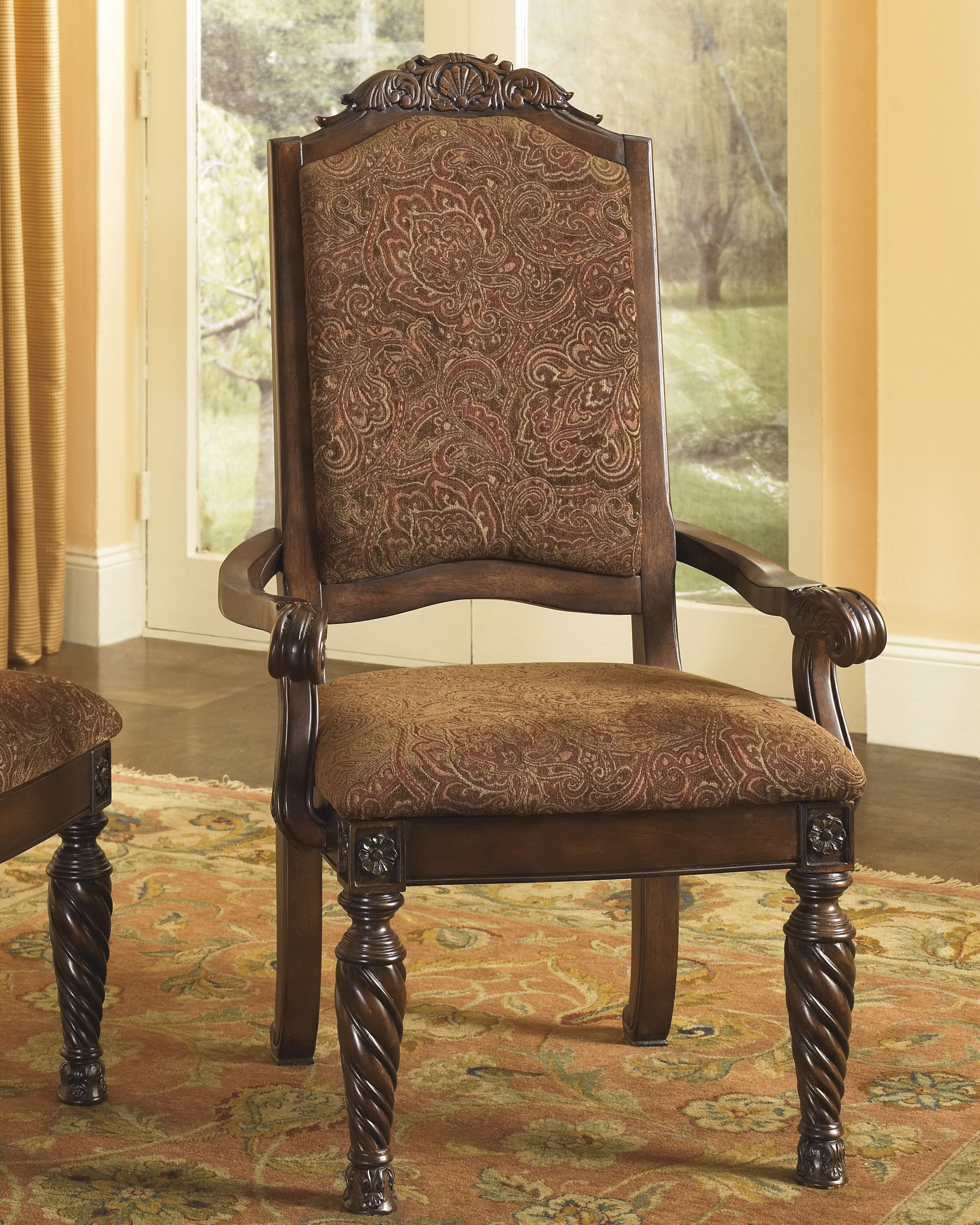 Set of 2 Dining Upholstered Side Chair by Ashley Furniture by Signature Design by Ashley (Image #5)