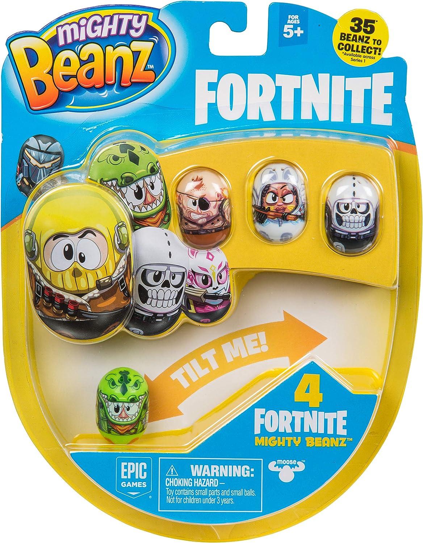 Mighty Beanz Paquete de 4 Estilos Pueden Variar, Multi: Amazon.es: Juguetes y juegos