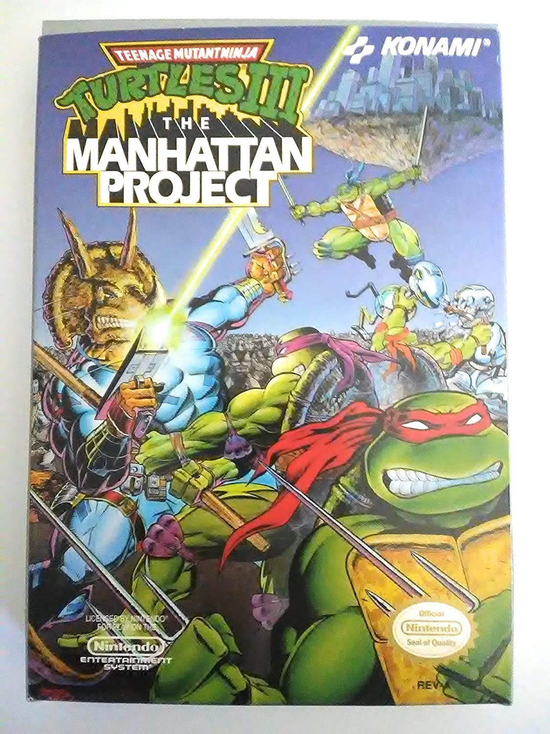 Teenage Mutant Ninja Turtles III, The Manhattan Project