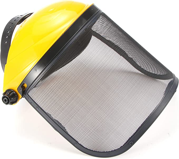 FreeLeben Casco Protector De Protección Facial Con Visera De ...