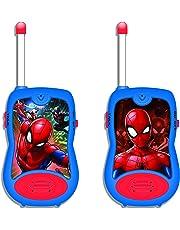Spider-Man - Walkie-Talkies, 100 metros, juguete niño (Lexibook TW12SP)
