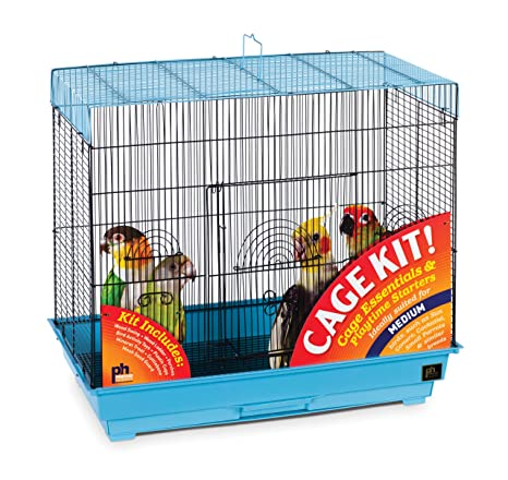 Prevue Mascota Productos 91340 Vuelo Kit de Jaula de pájaros ...
