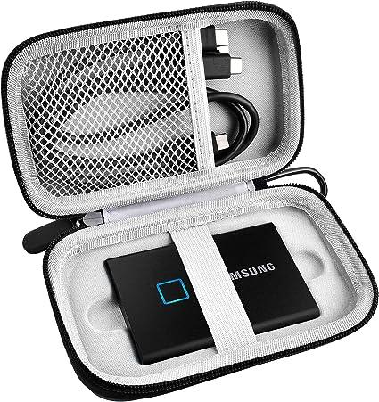 Samsung T7 Touch Portable Ssd 1tb 2tb 500gb Usb 3 2 Black Elektronik