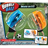 Bubble Ball 4' For Bubble Soccer Zorb Football Ages 8+ Bubble Bumper Suit Outdoor Fun Blue
