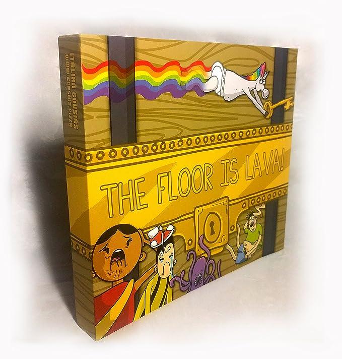 Amazon.com: El suelo es juego de mesa de lava.: Toys & Games