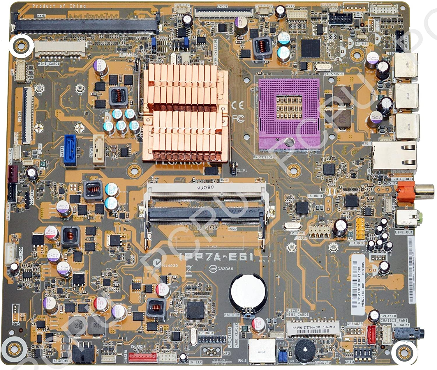 579714-001 HP Touchsmart AIO TS 9100 Intel Motherboard s478