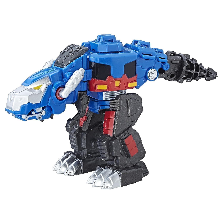 Transformers C1027EL2 Playskool Heroes Rescue Bots Optimus Prime Figure Hasbro Dinosaurs