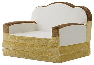 安心の日本製 食パン型 ソファーベッド 折りたたみ / シングル 日本製 座椅子