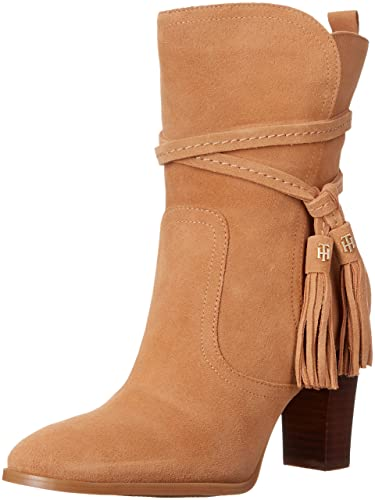 d8398e86be87 Tommy Hilfiger Women s Varick Ankle Bootie Brown 9 ...