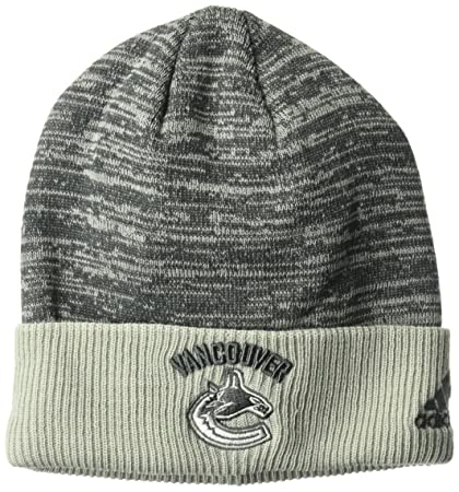 feade5d7c5a Buy adidas NHL Vancouver Canucks Adult Men Pro Authentic Travel   Training  Cuffed Beanie