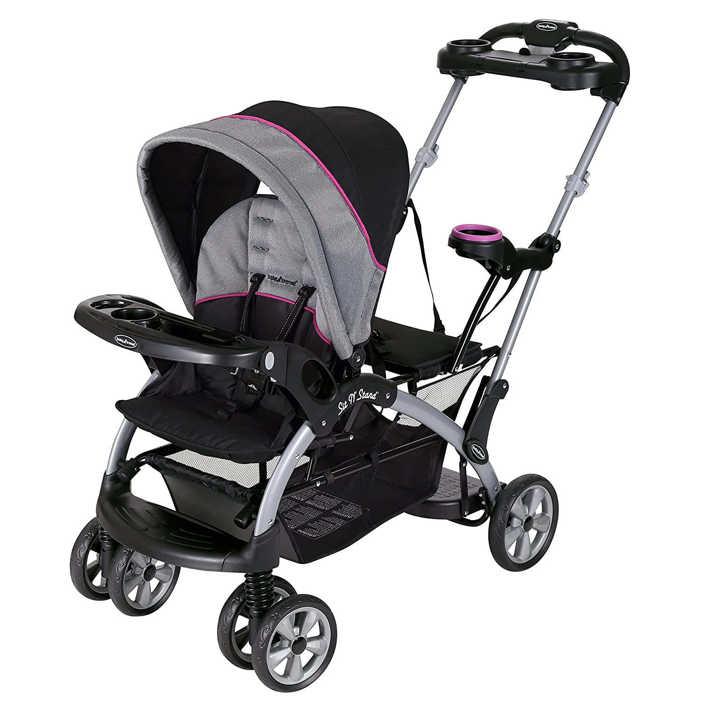 Baby Trend Sit N Stand Ultra Stroller, Millennium Orange SS66203