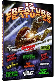 Amazon com: The Complete Bob Wilkins Creature Features DVD