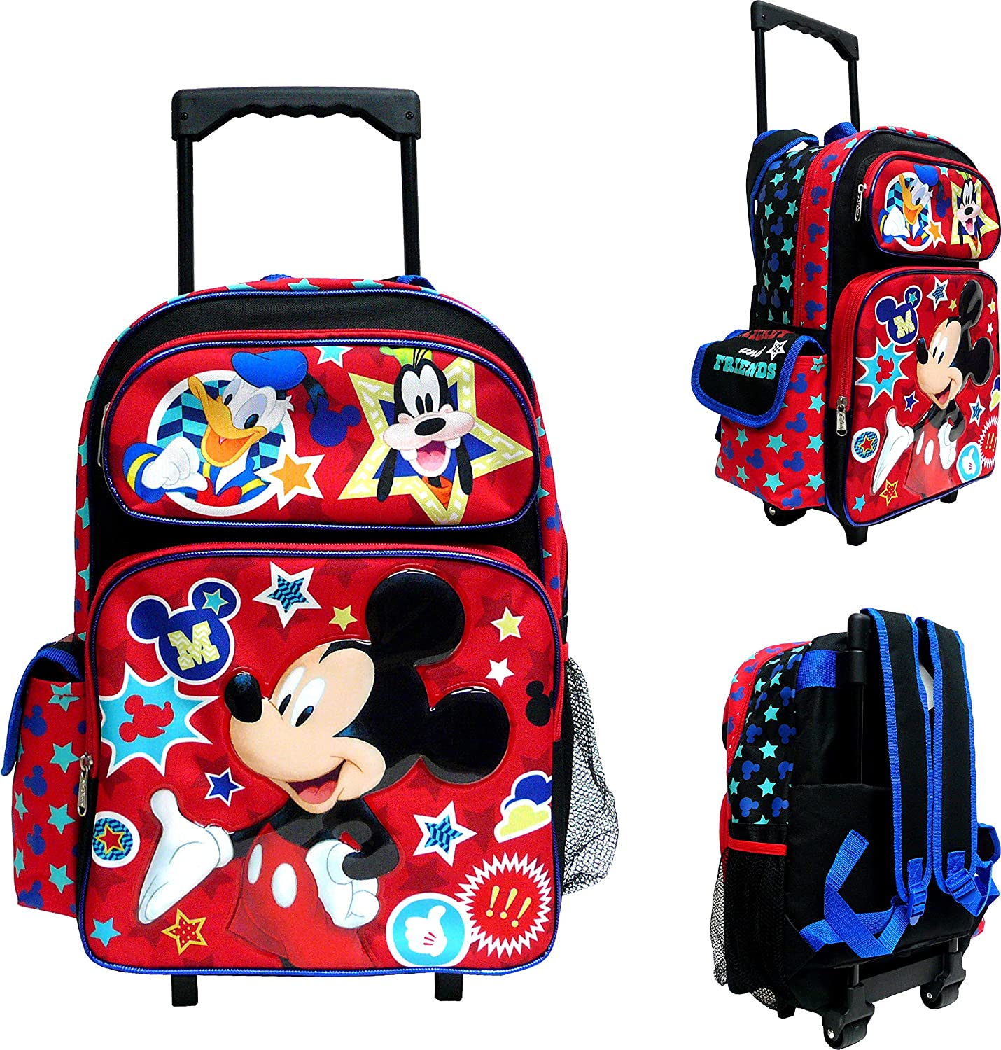 Disney Mickey Mouse Large Rolling Backpack