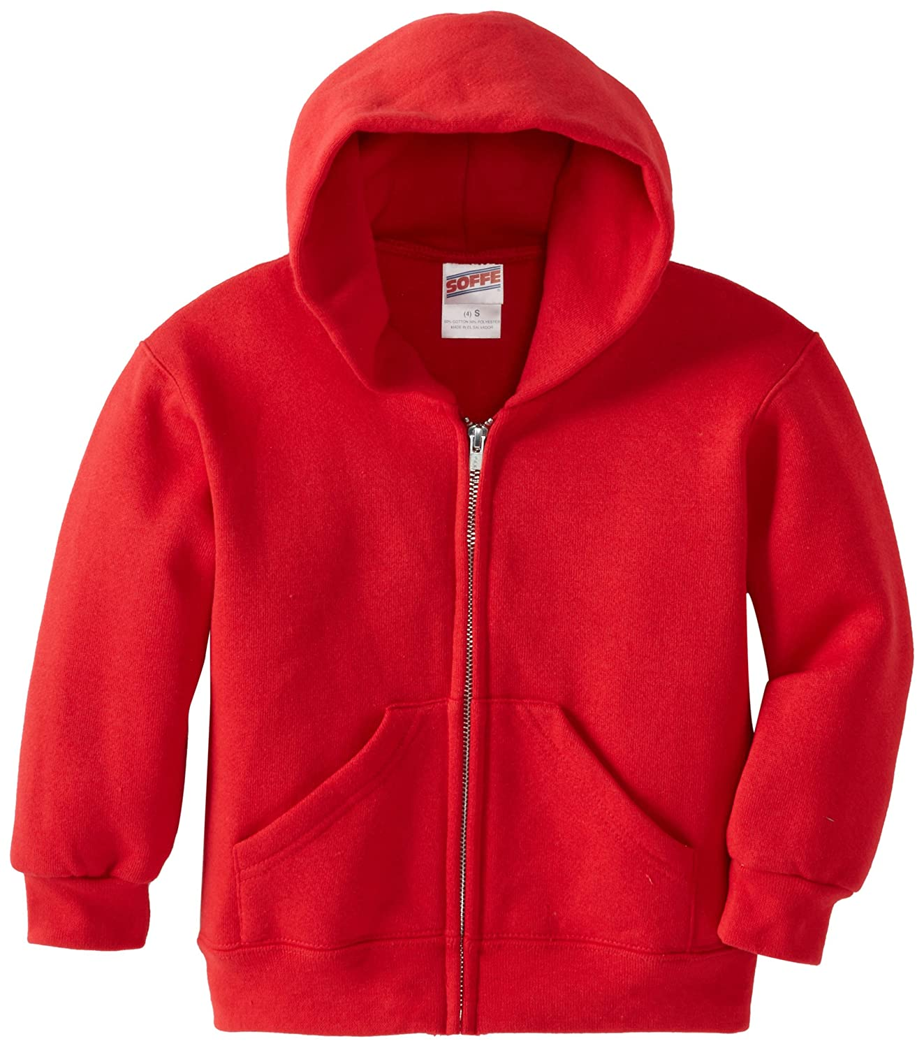 Soffe Little Boys' Heavy Weight Zip Hood M J Soffe - Kids J9078