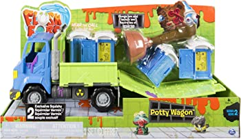 Flush Force Series 2 Potty Wagon with Gross Collectible Figures