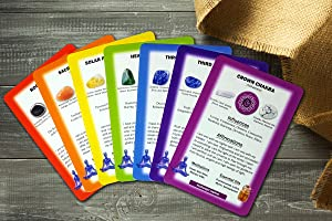 Deck of Chakra Healing Cards: Deep Healing Collection with Affirmations, Meditations, Characteristics, Spirit Guides, Aromatherapy info