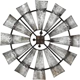 Special T Imports 30 Rustic Windmill Clock by Special T Imports