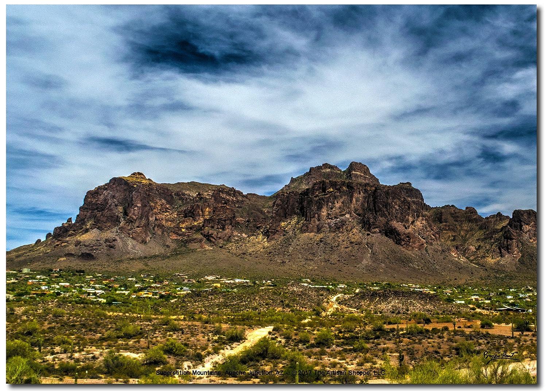 The Artisan Shoppe 20x16 Color Print Phoenix Arizona Hole in The Rock
