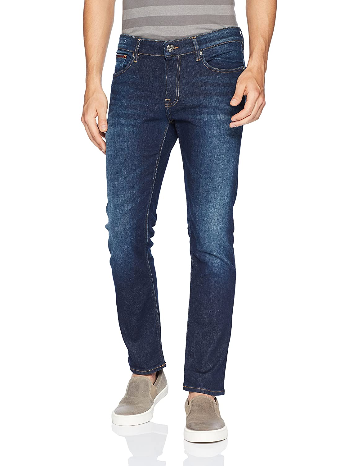 Tommy Hilfiger Mens Original Scanton Slim Fit Jeans