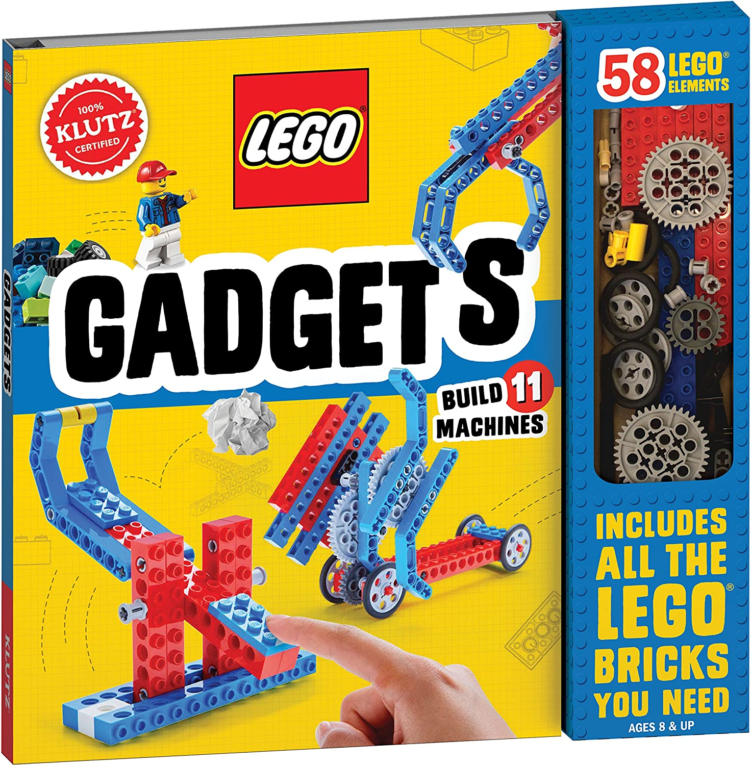 1338219634 Klutz Lego Gadgets Science & Activity Kit, Ages 8+ 91g-dEGdH2L