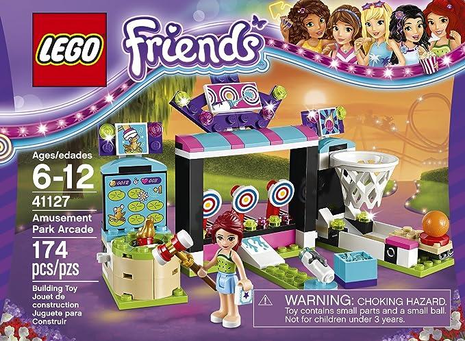 LEGO Friends 41126 Amusement Park Arcade Building Kit (174 Piece ...