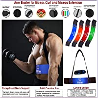 Xtrim Dura Blaster Arm Blaster-Heavy Duty Thick Gauge Aluminum-Bicep Blaster for Biceps and Triceps Workout-Ensures Faster Results-Isolator & Elite Muscle Arm Blaster for Bodybuilders & Weightlifters