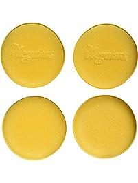 """Meguiar's W0004 4-1/2"""" Foam Applicator Pads - (Pack of 4)"""
