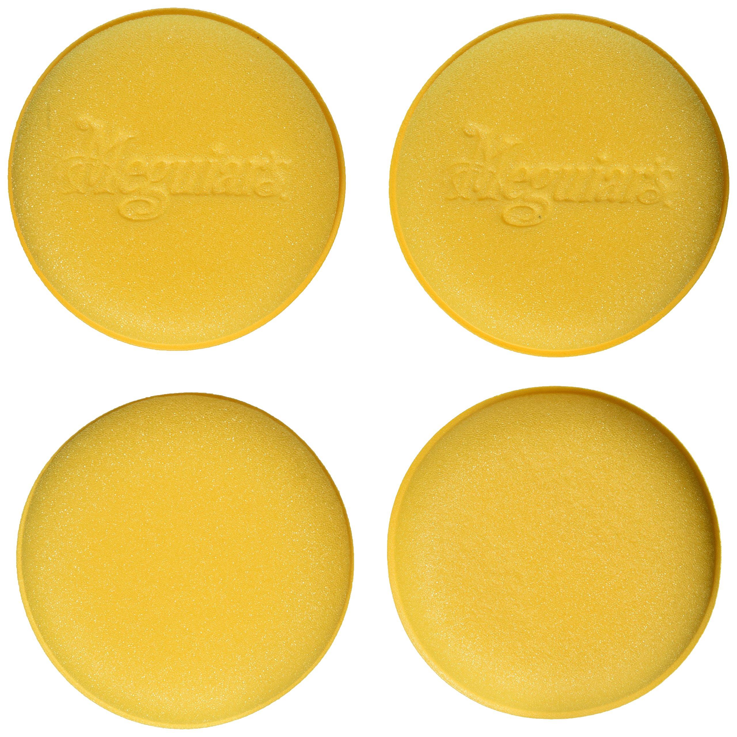 Meguiar's W0004 Supreme Shine 4'' Foam Applicator Pads, 4 Pack