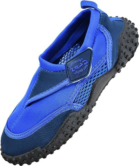 e88467b45696 Boys Girls Mens Womens Surf Aqua Shoes Beach Swim Water Shoes Wetsuit Socks  (Kids UK