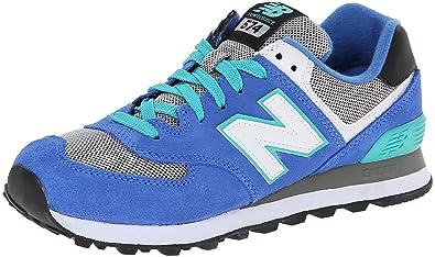 size 40 d1156 39589 New Balance Classic Traditionnels Blue Grey Womens Trainers, Blau Grau,  36.5 EU