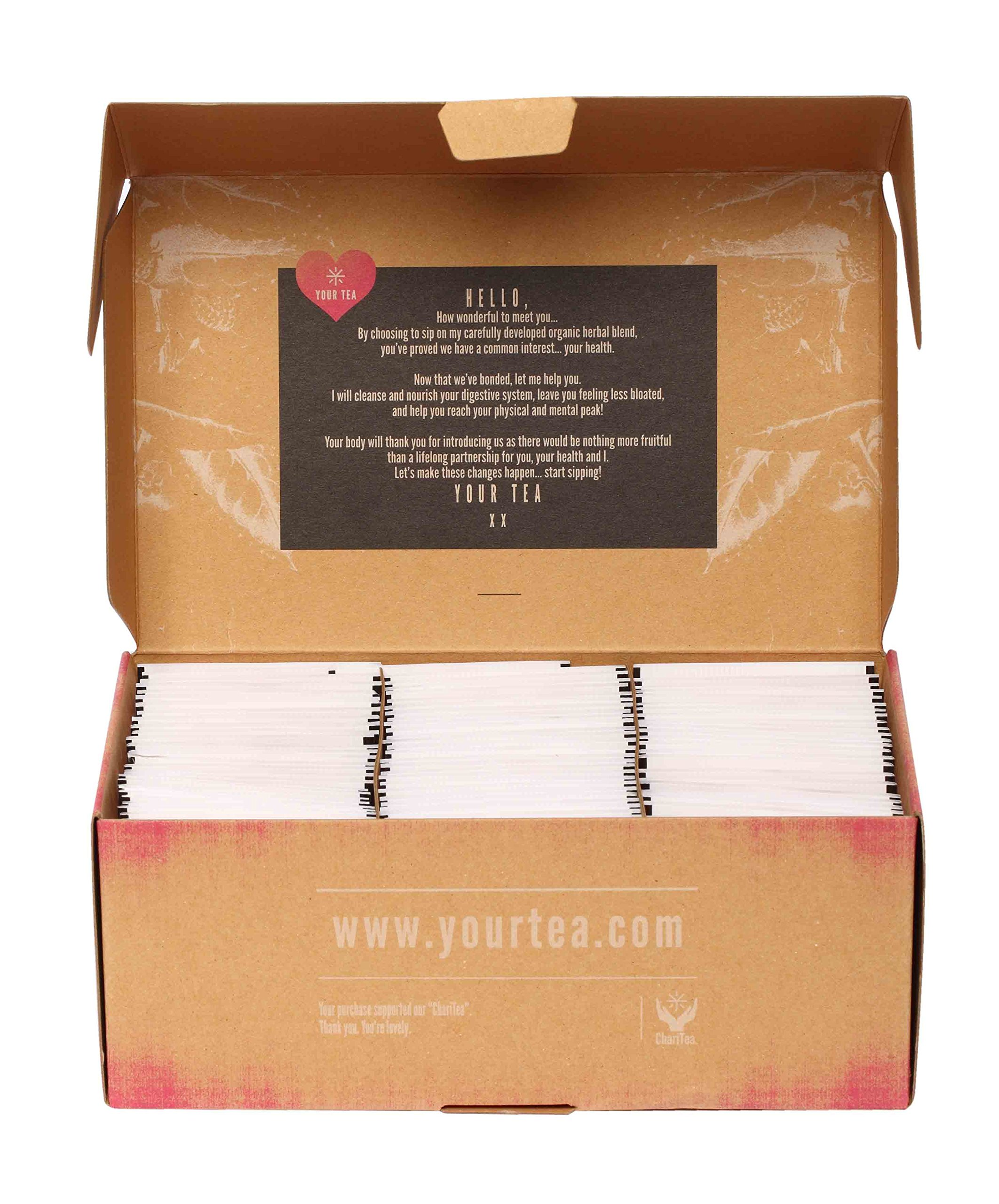 Gluten Free Tiny Tea Teatox (28 Day Detox Tea)- Your Tea Natural Blends, Created by Traditional Chinese Medicine Practitioners