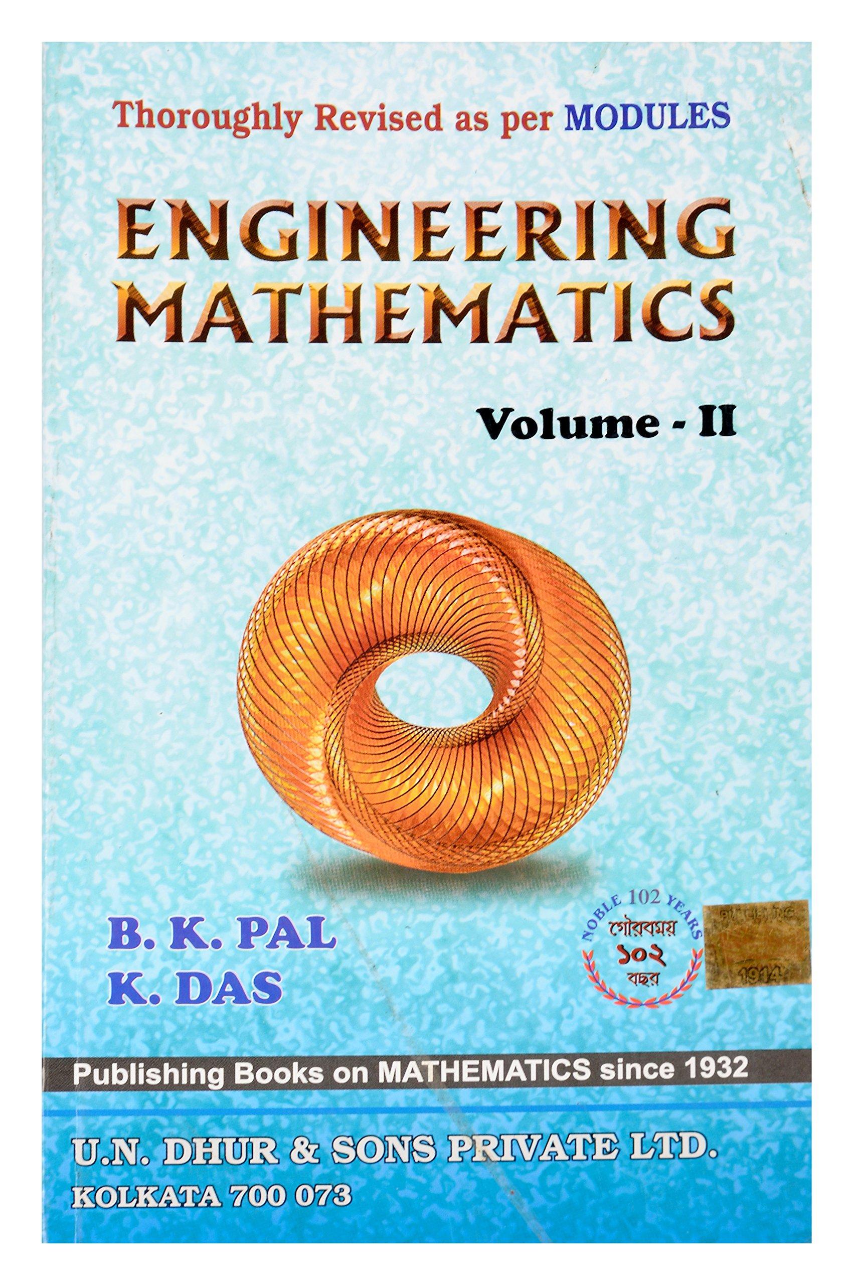 pdf of engineering mathematics volume 2 of pal das download