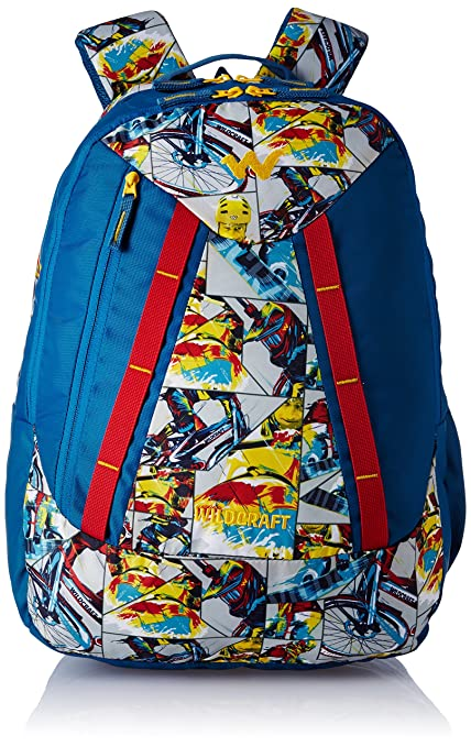 09cda7125 Wildcraft Polyester 32 Ltrs Red and Blu School Backpack (WC 3 Jock 1):  Amazon.in: Bags, Wallets & Luggage