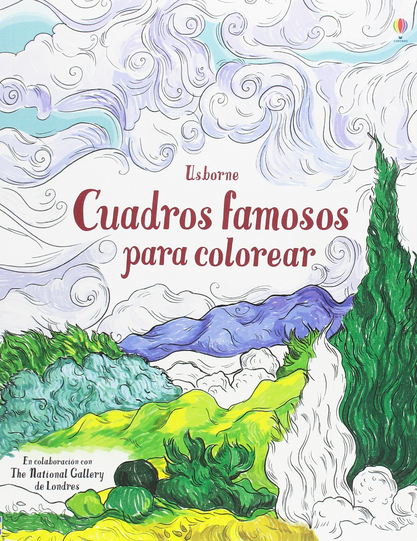Cuadros famosos para colorear: Amazon.es: Susan Meredith, Susan Meredith: Libros