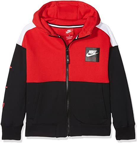 cfb9f61b8ca37 Nike Jungen Air Hoodie Full-zip Felpa con cappuccio