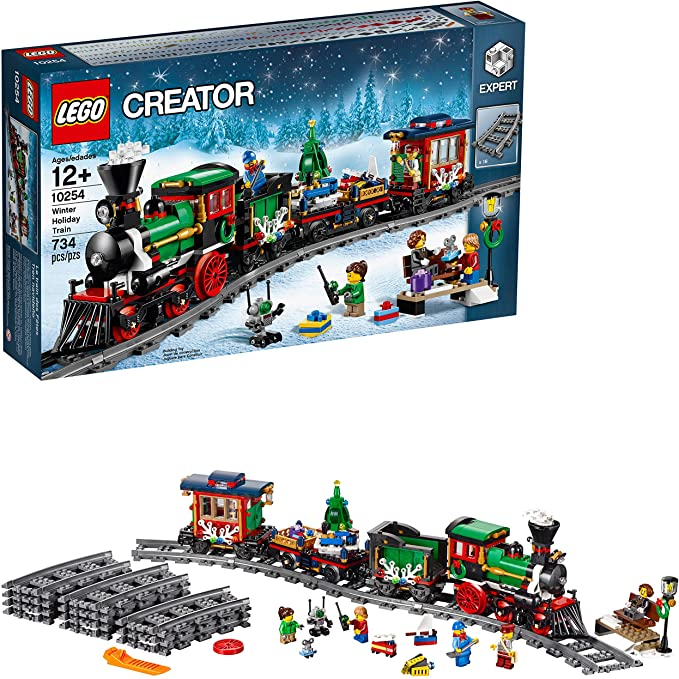 Lego Train De Noel Amazon.com: LEGO Creator Expert Winter Holiday Train 10254